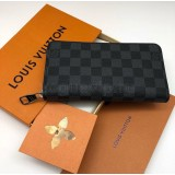 Кошелек Louis Vuitton Zippy Damier Graphite