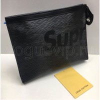 Клатч Louis Vuitton Pochette Voyage Supreme Black