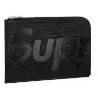 Клатч-Папка Louis Vuitton Jour PM Supreme Black